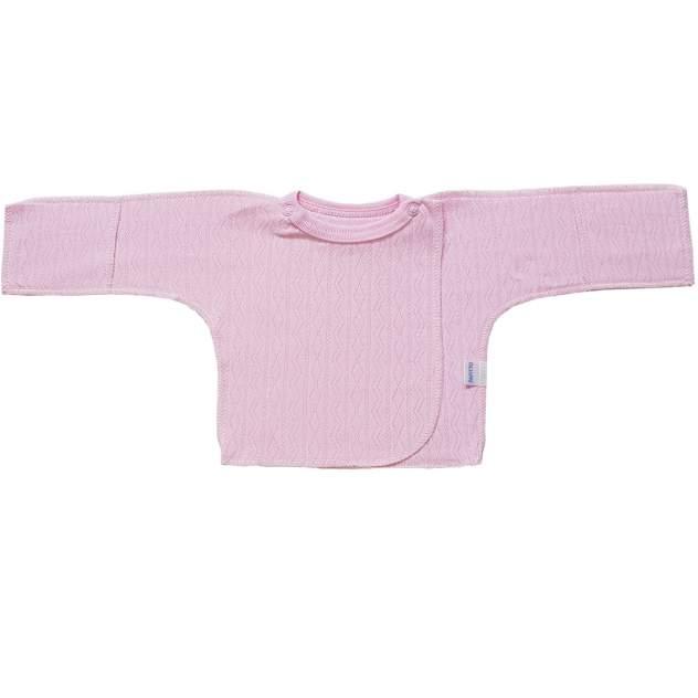 Распашонка детская Папитто ажур розовый р.20-56 И61-102