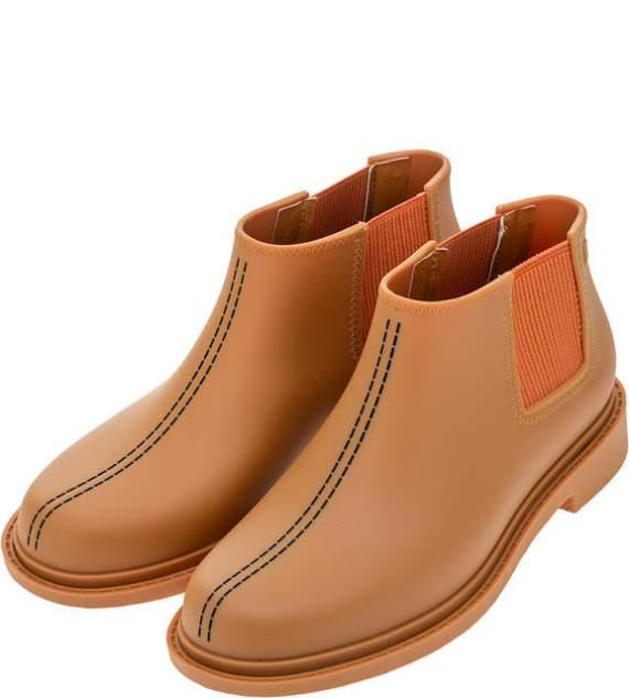 Сапоги резиновые женские Melissa 3255052790 коричневые 35-36 RU