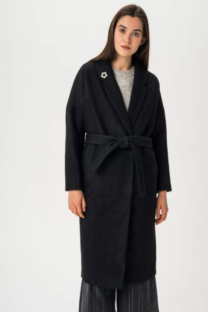 Пальто женское ElectraStyle 4-7038-293 черное 42 RU