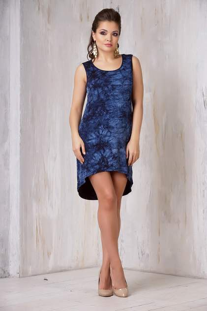 Платье женское VAY 3288 синее 42 RU