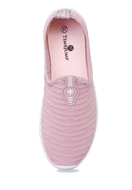 Кеды женские TimeJump 710017670 розовые 40 RU
