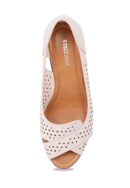 Туфли женские T.Taccardi 710017764 бежевые 36 RU
