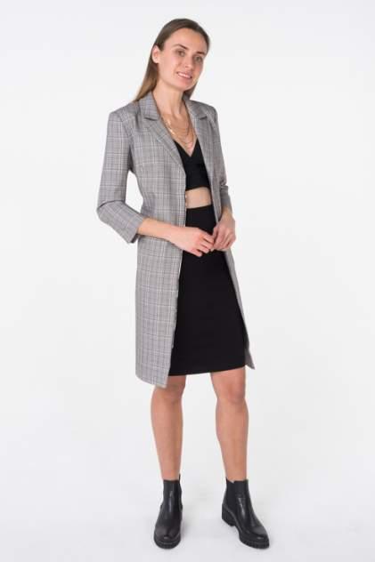 Топ женский T-Skirt SS17-04-0351-FS черный 46 RU