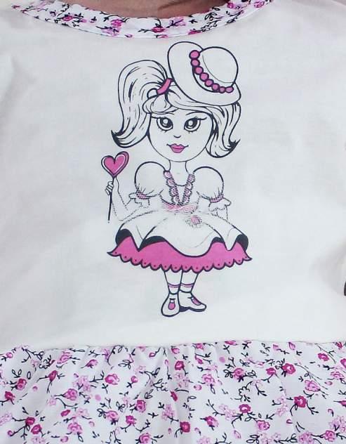 Платье для девочек Осьминожка 123-124П-24/80 многоцветный р.80