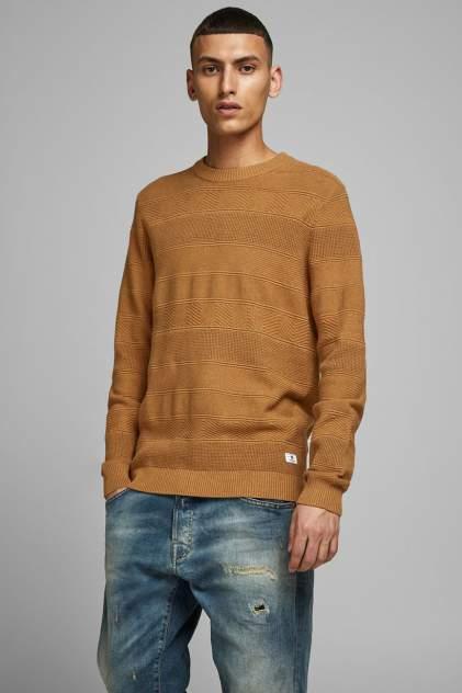 Джемпер мужской Jack & Jones 12175915 коричневый 48
