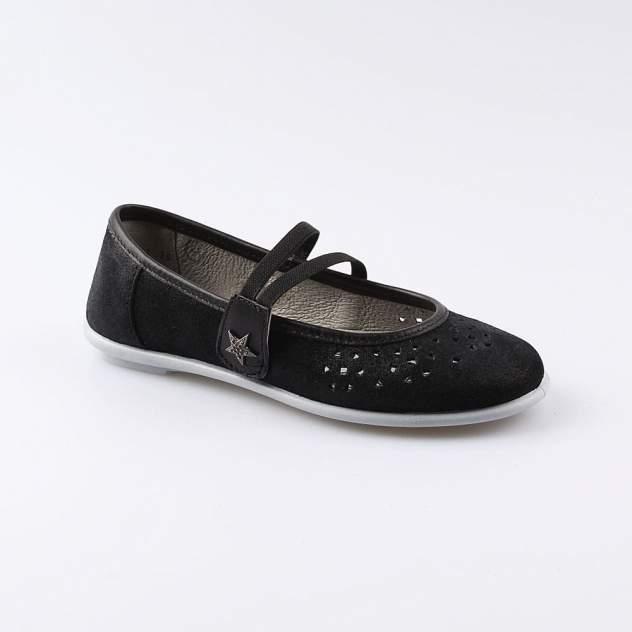 Туфли детские Котофей, цв.черный
