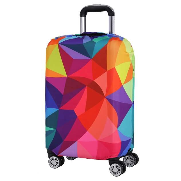Чехол для чемодана FABRETTI W1001, разноцветный