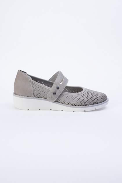 Туфли женские Jana 8-8-24662-22 серые 37 RU