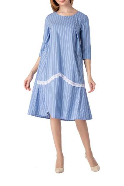 Платье женское Adzhedo 41729 голубое 3XL
