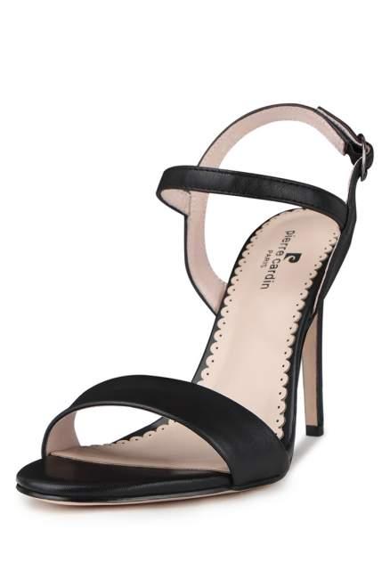 Босоножки женские Pierre Cardin 710017676 черные 38 RU