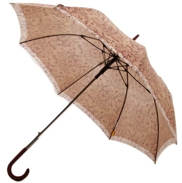 Зонт-трость женский автоматический ZEST 21629-1097 коричневый