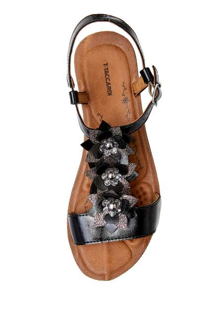 Босоножки женские T.Taccardi 710018130 черные 40 RU