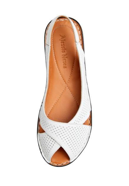 Туфли женские Alessio Nesca 273060R0 белые 37 RU