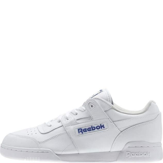 Кроссовки Reebok Workout Plus, white, 44 RU