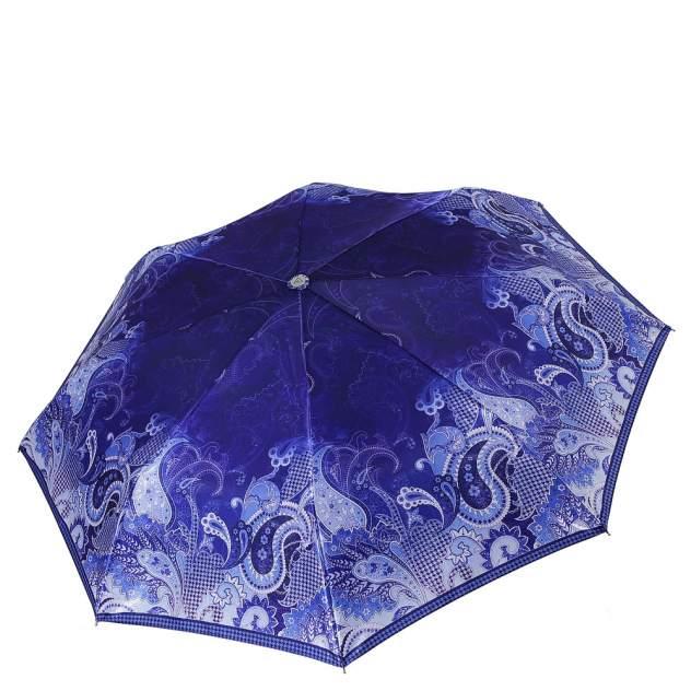 Зонт складной женский автоматический FABRETTI L-18106-12 синий