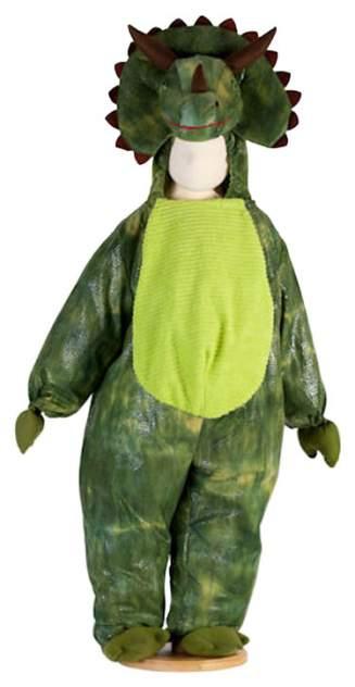 Карнавальный костюм Travis Designs Динозавр, цв. зеленый р.92