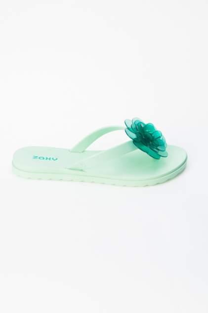 Сабо женские Zaxy 17605 зеленые 38 RU