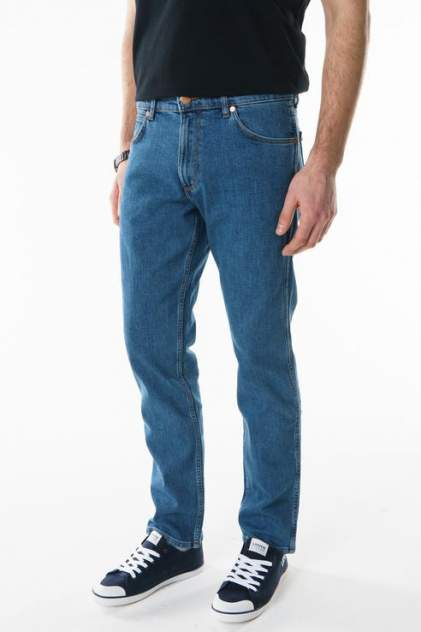 Джинсы мужские Wrangler W15Q23091 синие 30/34 USA