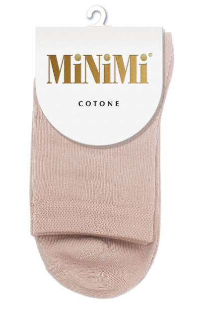 Носки женские MiNiMi MINI COTONE 1202 бежевые 35-38