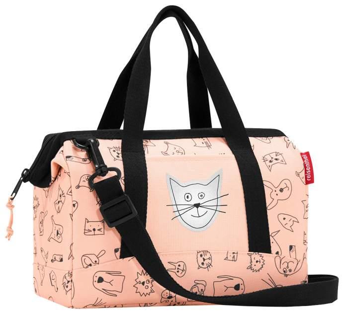 Сумка детская Reisenthel Allrounder XS cats and dogs rose для девочек Розовый IQ3064
