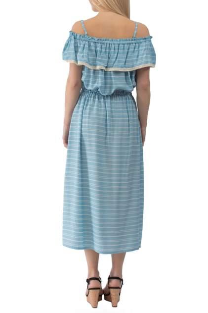 Платье женское Gloss 22319(10) голубое 40 RU