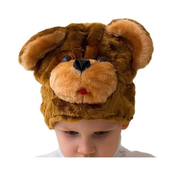 Карнавальная шапка Бока Медвежонок, 54-56 см 1144