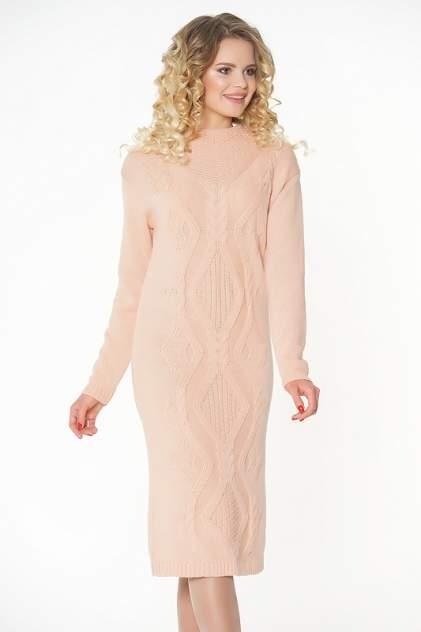 Платье женское VAY 2282 коричневое 54 RU