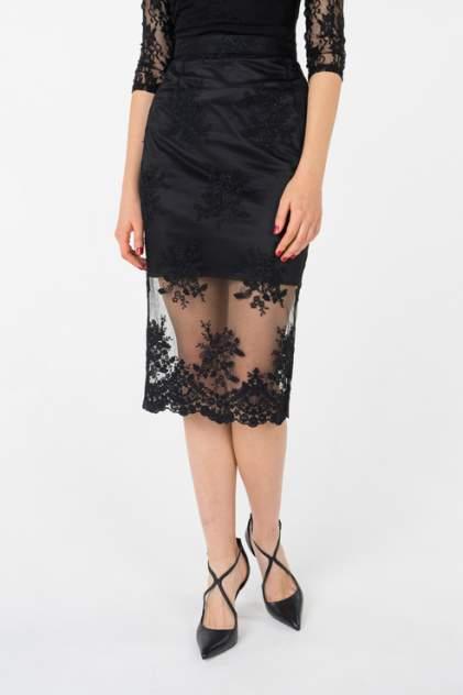 Юбка женская T-Skirt SS17-02-0401-FS черная 46 RU