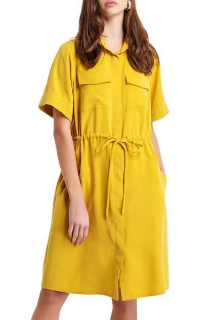 Платье женское BGN S19D204 желтое 38 FR