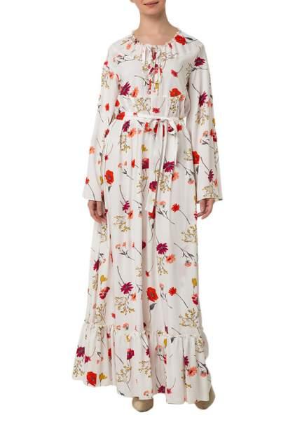Платье женское Adzhedo 41742 белое 3XL