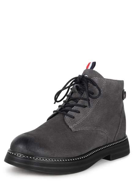 Ботинки женские Pierre Cardin 710018591 серые 36 RU