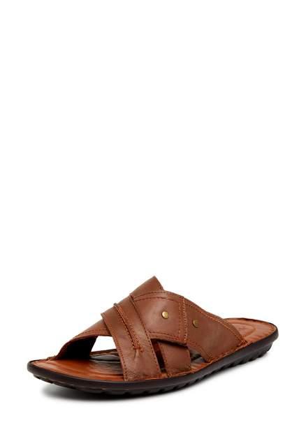 Шлепанцы мужские Alessio Nesca Comfort 710018079, коричневый