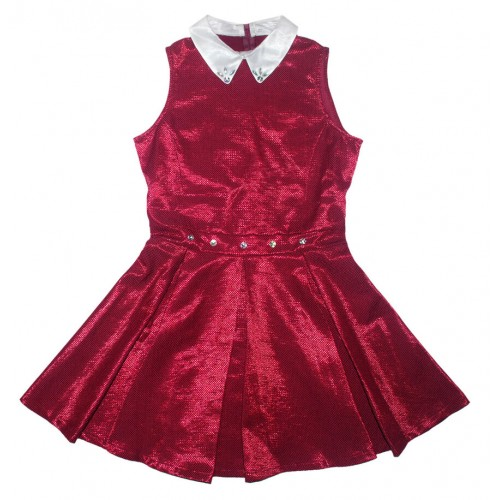 Платье детское Bon&Bon, цв.красный