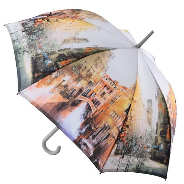 Зонт-трость женский автоматический ZEST 216255-13 серый