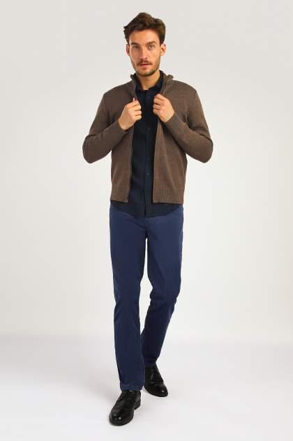 Кардиган мужской Finn Flare A19-42105 коричневый 2XL