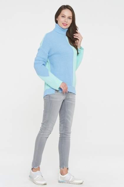 Свитер женский VAY 192-4898 голубой 50 RU