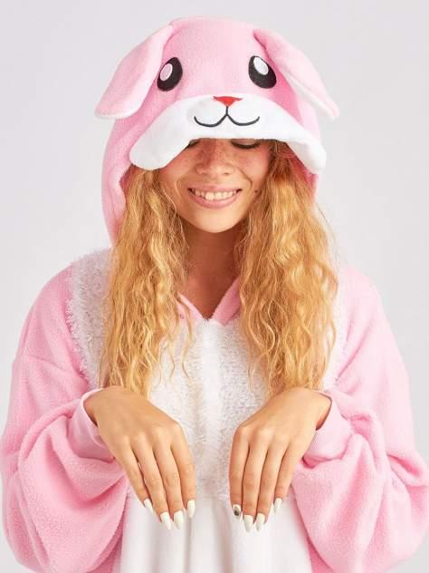 Кигуруми BearWear «Кролик розовый» M