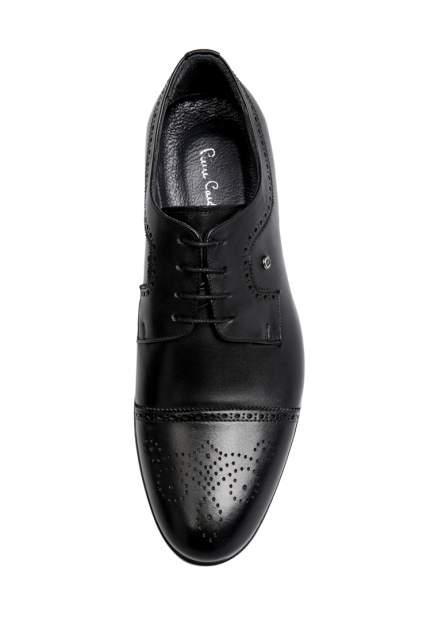 Туфли мужские Pierre Cardin 03406550 черные 43 RU