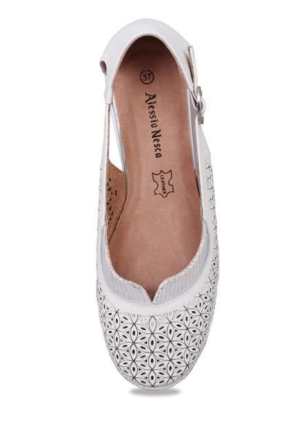 Туфли женские Alessio Nesca 27306140 белые 36 RU