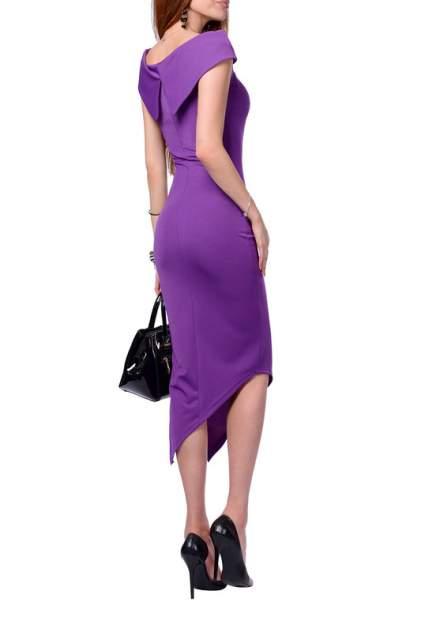 Платье женское FRANCESCA LUCINI F0705-1 фиолетовое 48 RU