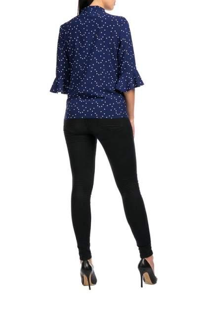 Блуза женская Mankato М-935(03) синяя 46 RU