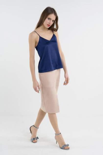 Топ женский T-Skirt 16SS-04-0119-BS синий 44