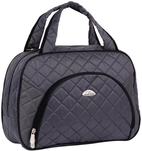 Дорожная сумка Polar 7038.1 серая 42 x 14 x 31