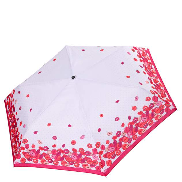 Зонт складной женский механический FABRETTI MX-18100-6 белый