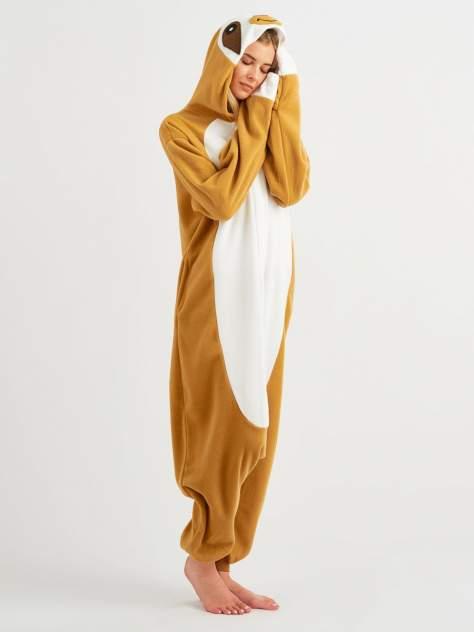 Кигуруми BearWear Ленивец, коричневый