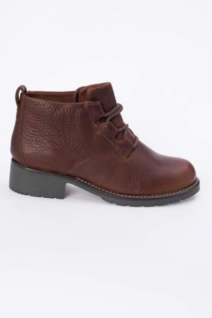 Ботинки женские Clarks 26135214 коричневые 40 RU