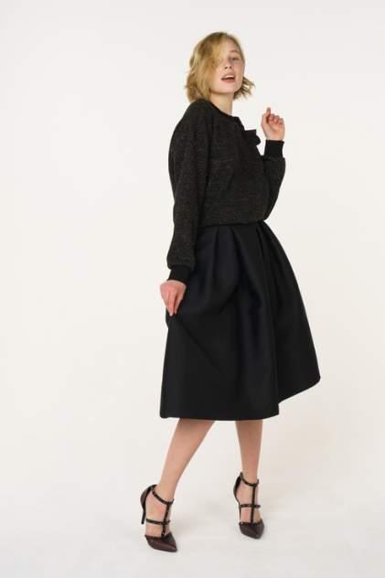 Юбка женская T-Skirt 16SS-02-0220-FS черная 44 RU