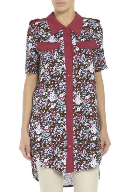 Рубашка женская Adzhedo 70052 коричневая L