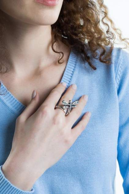 Кольцо женское Nina Ford EN0565 черное