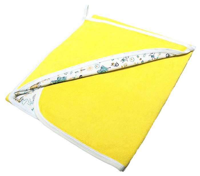 Пеленка Сонный гномик махровая солнечно-желтый